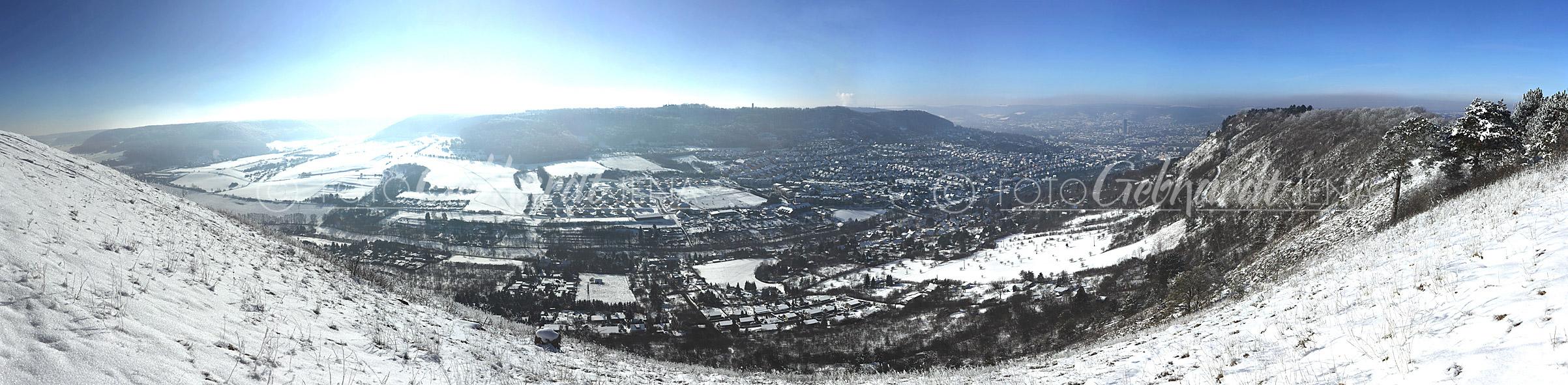 Blick vom Jenzig nach Jena - Ost